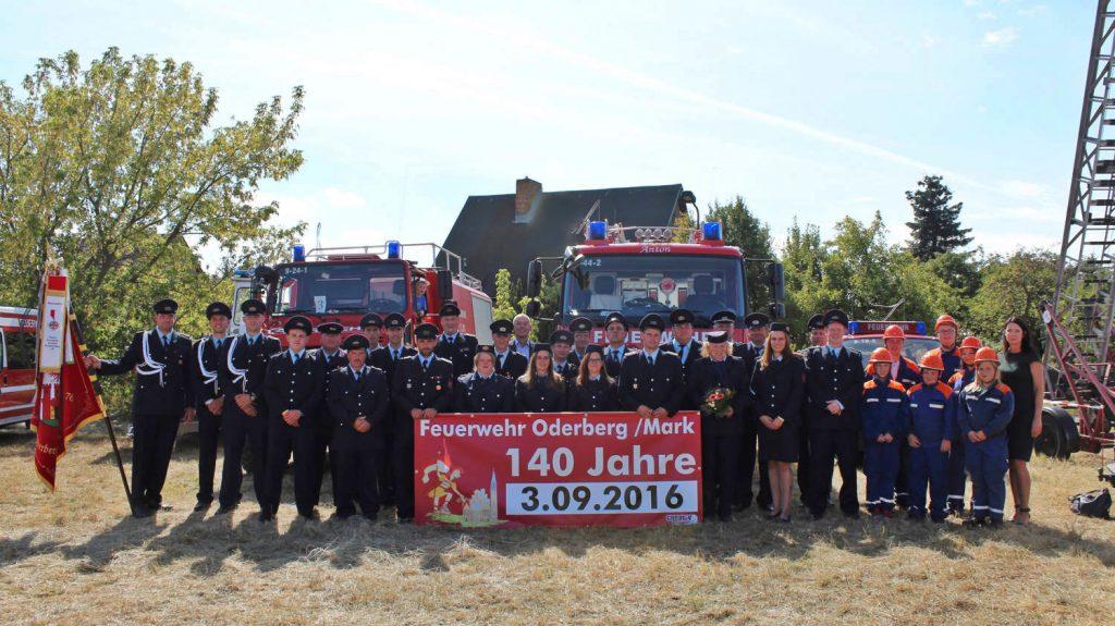140 Jahre Freiwillige Feuerwehr Oderberg