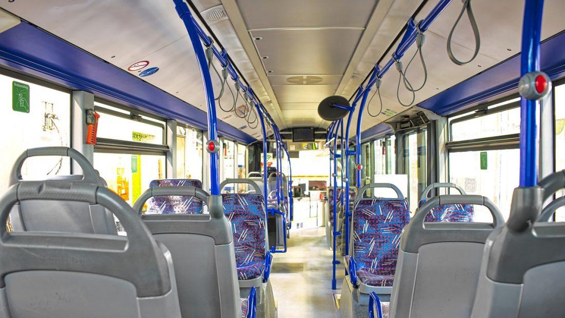Linienbus Innenansicht