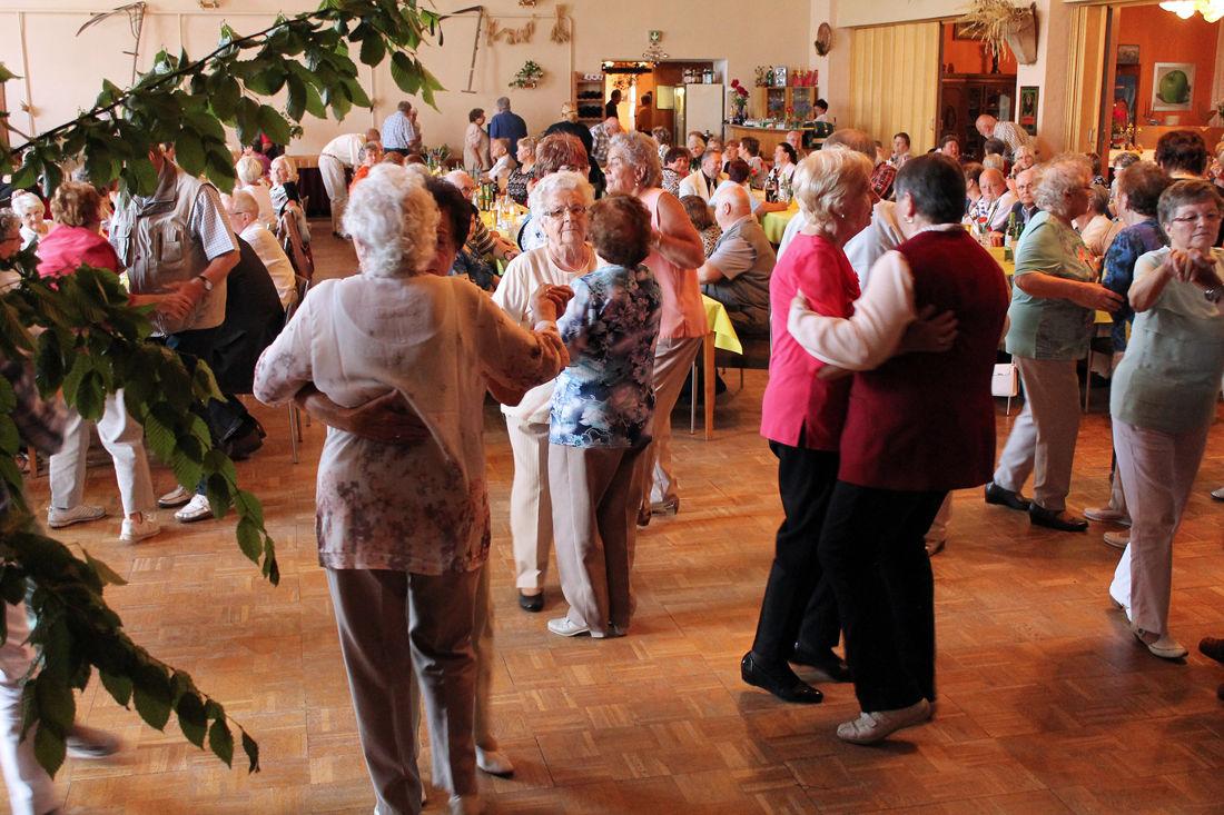 Sommerfest der Senioren in Lüdersdorf